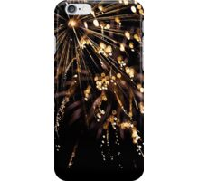 Gold reflections iPhone Case/Skin