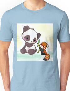 Cute Pandas  Unisex T-Shirt