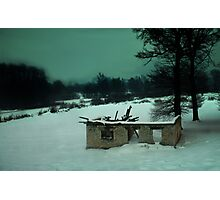 Road to Tuzla, Bosnia-Herzegovina Photographic Print