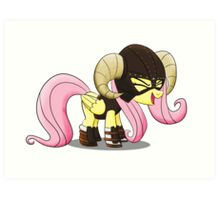 FUS RO yay (Fluttershy from My Little Pony: Friendship is Magic) Art Print