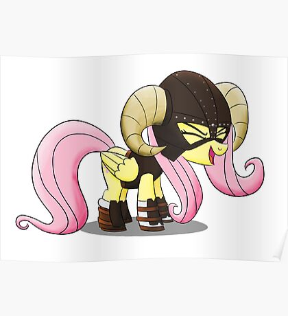 FUS RO yay (Fluttershy from My Little Pony: Friendship is Magic) Poster