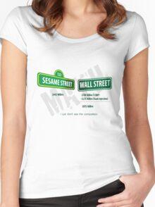 Sesame Street Math Women's Fitted Scoop T-Shirt