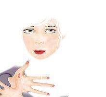 Light [Digital Portrait Illustration] by Grant Wilson