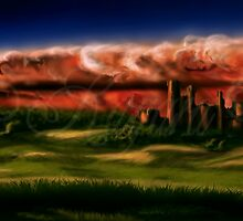Landscape 4 (Storm is comming) by Kagara