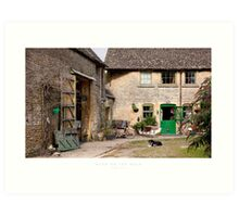 Stow on the Wold, Gloucestershire Art Print