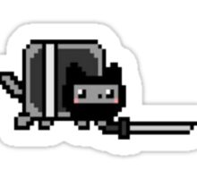 Ninja nyan cat Sticker