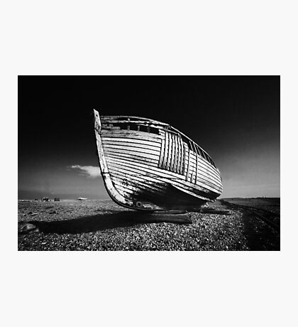 A Lonely Boat Photographic Print