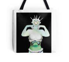 Christmas past [Digital Figure Illustration] Tote Bag