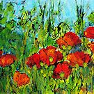 Languedoc Poppies No.4 by JackieSherwood