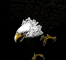 Eagle Bald iPhone 4 / iPhone 5 Case / Samsung Galaxy Cases  by CroDesign