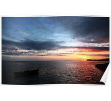 Lost Fijian Sunset Poster
