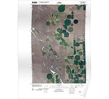 USGS Topo Map Washington State WA Gloyd 20110425 TM Poster