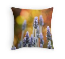 Living in the light.... Throw Pillow