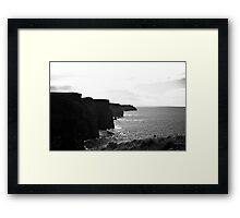 Ireland in Mono: Reality Scares Me Framed Print