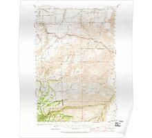 USGS Topo Map Washington State WA Peola 243116 1943 62500 Poster