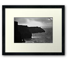 Ireland in Mono: Living A Fantasy Framed Print