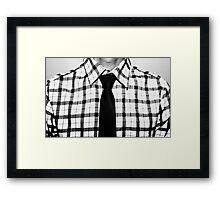 Polo & Tie Framed Print