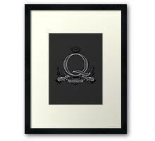 Q-Branch Framed Print