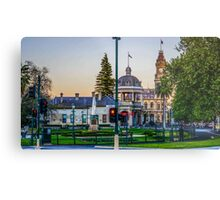 Beautiful Bendigo Icons at Sunset Metal Print