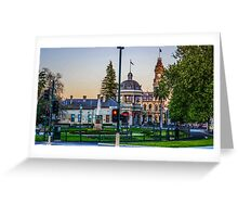Beautiful Bendigo Icons at Sunset Greeting Card