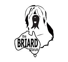 Australian Briard Forum Logo by BriardRescue