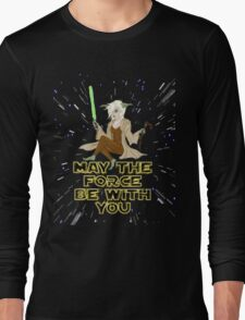 Jedi Mistress Yoda Long Sleeve T-Shirt