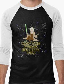 Jedi Mistress Yoda Men's Baseball ¾ T-Shirt