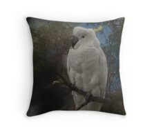 Polly in a Tree Throw Pillow