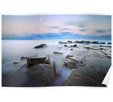 Moonlight - Forresters Beach Poster
