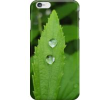 Water drop iPhone Case/Skin