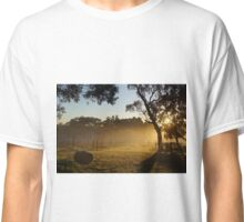 Sunrise over the vines Classic T-Shirt