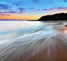 Shining Light - Forresters Beach by Jacob Jackson