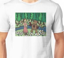 Teddy Bear And Bunny - Please Take It Unisex T-Shirt