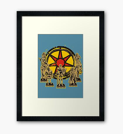 FAITH OF THE SEVEN Framed Print