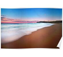 Sunset - Shelly Beach Poster