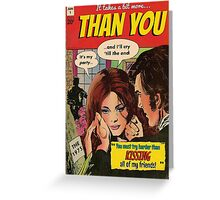 You by The 1975 Comic Greeting Card