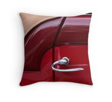 Handle With Curve Throw Pillow