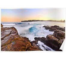 Afternoon Light - Avoca Beach Poster