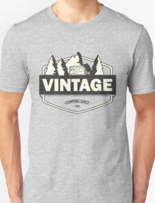 Vintage camping since 1965 T-Shirt