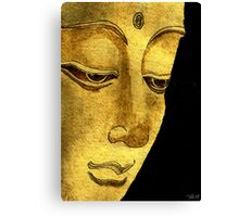 Buddha Watercolour & Ink Painting Canvas Print