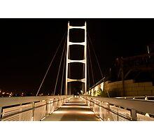 Bridge to jackson Photographic Print