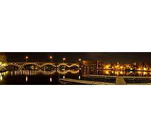 River panorama Photographic Print