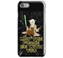 Jedi Mistress Yoda iPhone Case/Skin