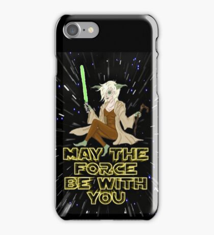 Jedi Mistress Yoda iPhone Case/Skin