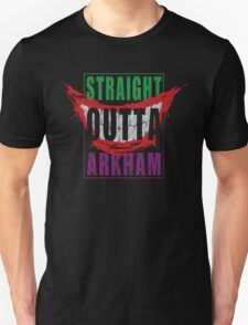 STRAIGHT OUTTA ARKHAM (COLOR) T-Shirt