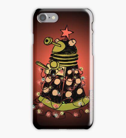 Dalek Holiday Case iPhone Case/Skin