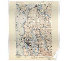 USGS Topo Map Washington State WA Snohomish 243816 1897 125000 Poster