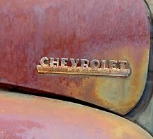 The Old Chevrolet by WildestArt
