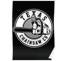 Texas Chain saw Massacre 'Texas Chain saw Company logo'  Poster