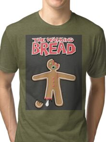 The Walking Dead GingerBread Man Zombie Tri-blend T-Shirt